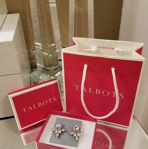Talbots Diamond Glam Earrings